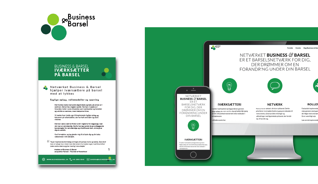 logo business og barsel